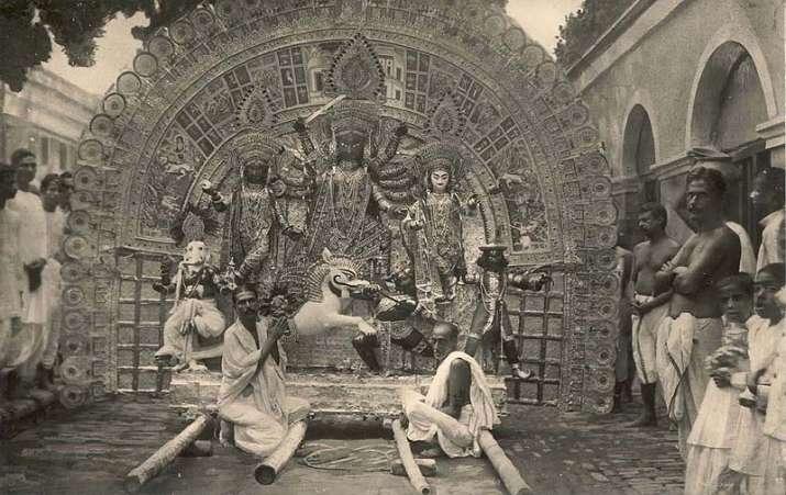India Tv - durga puja history