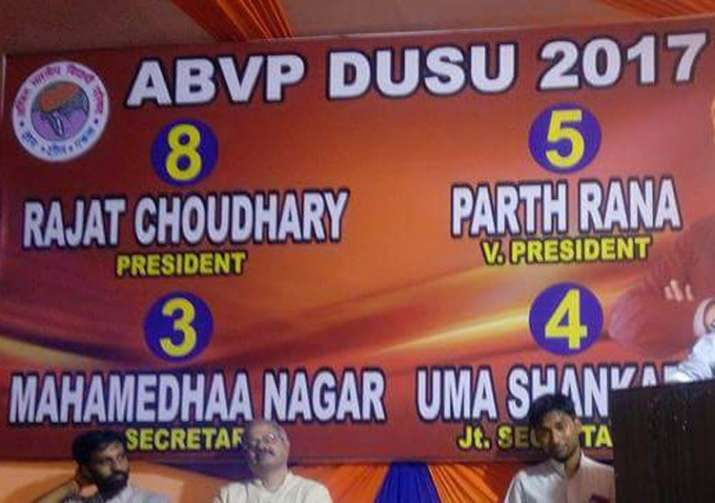 ABVP eyes fifth consecutive win in DUSU polls