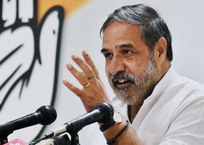 File pic of Anand Sharma