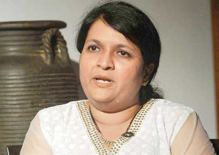 File pic of Anjali Damania