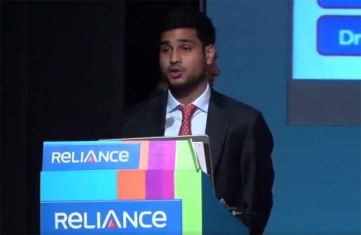 Anmol Ambani at 31st Reliance Capital AGM