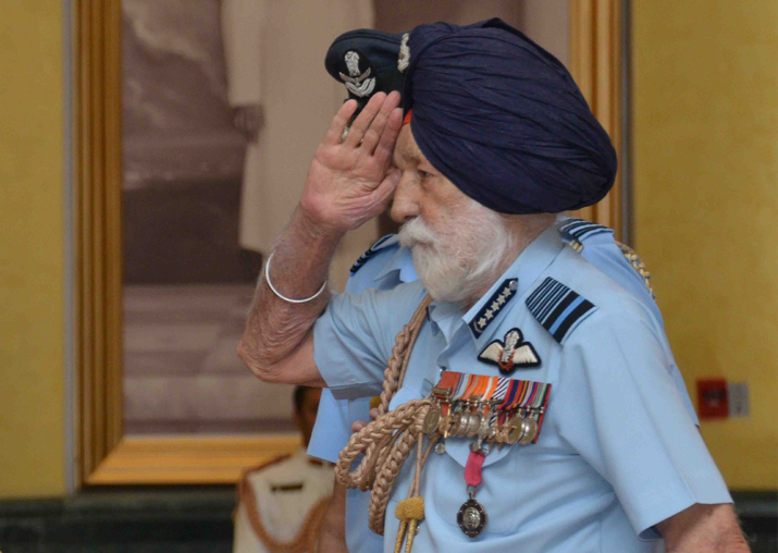 Nation bids adieu to Marshal of IAF Arjan Singh, the 1965