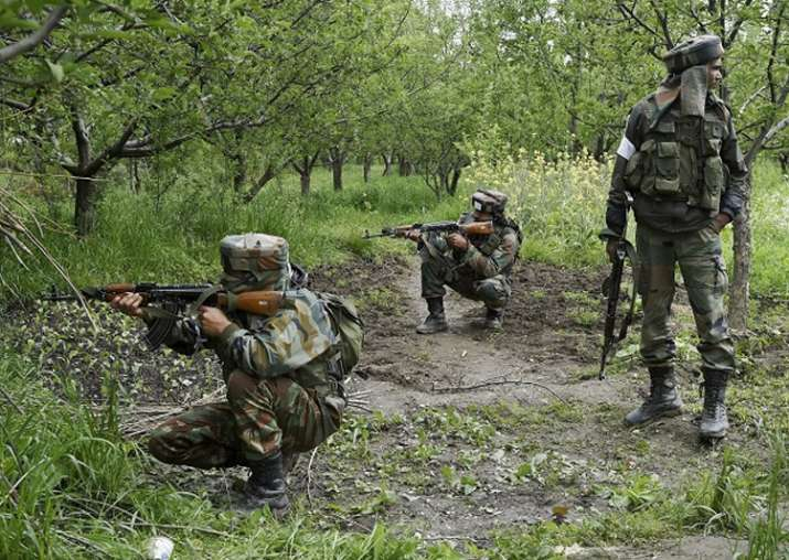 File pic - Indian Army jawans