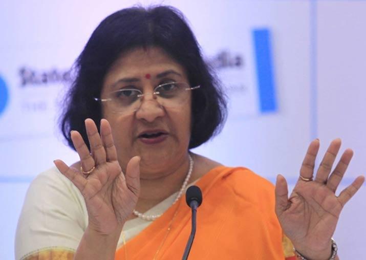 SBI chief Arundhati Bhattacharya