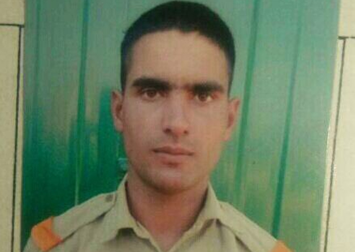 BSF constable Rameez Ahmed Parray