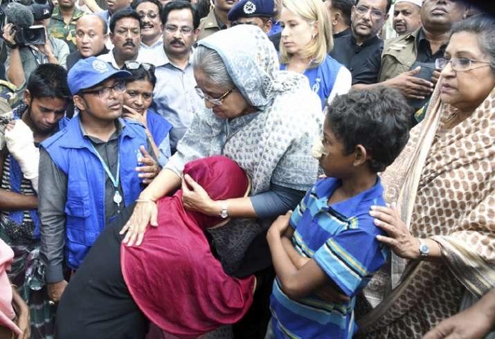 Bangladeshi PM Sheikh Hasina