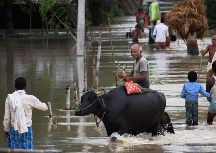 File pic - Flood situation improves in Bihar