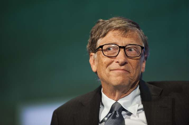 'No, no iPhone', Bill Gates said when asked if he was using