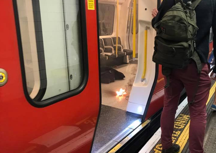 Small explosion in London's Tower Hill tube station