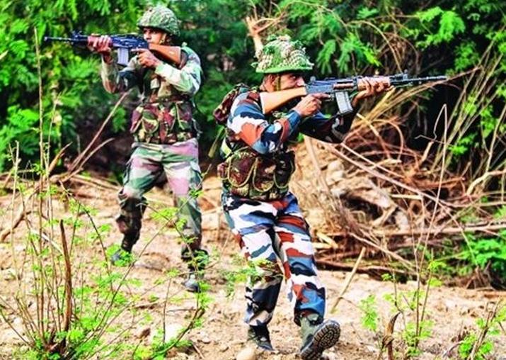 Representational pic - BSF kills 7 Pakistani rangers in JK