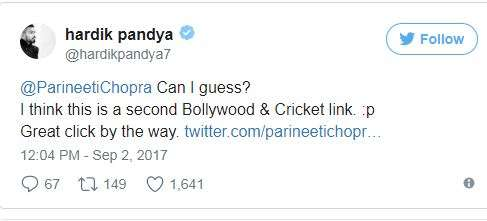 India Tv - Hardik, Parineeti