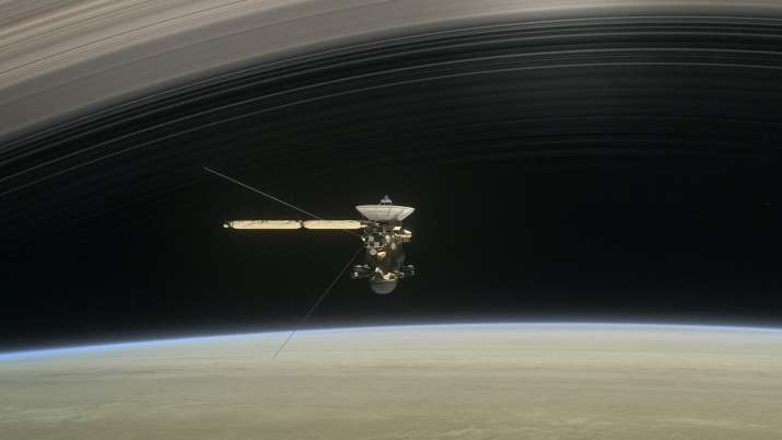 India Tv - Cassini's 13-year odyssey comes to end with a fiery plunge into Saturn