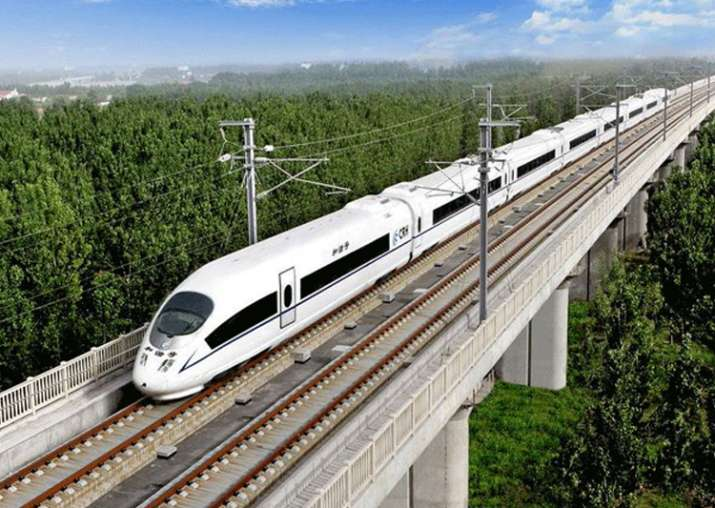 'Pleased' at Indo-Japan high speed rail cooperation,