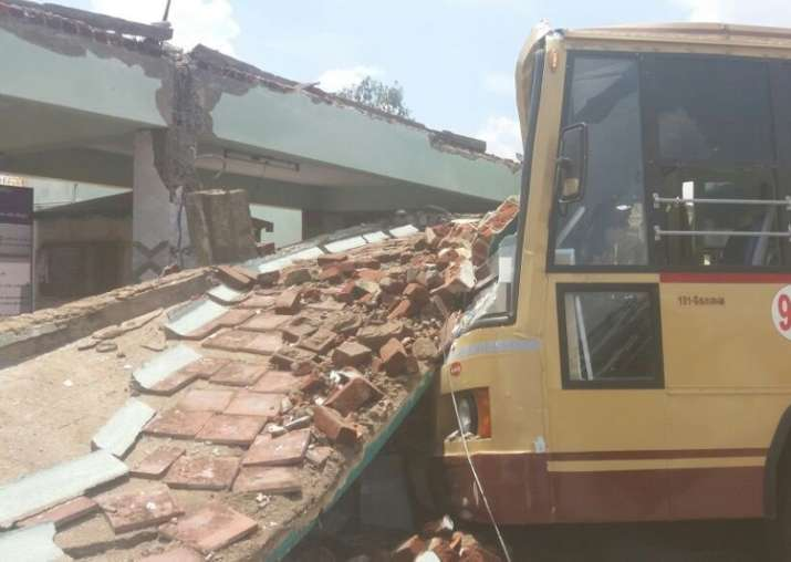 Coimbatore bus stand roof collapse