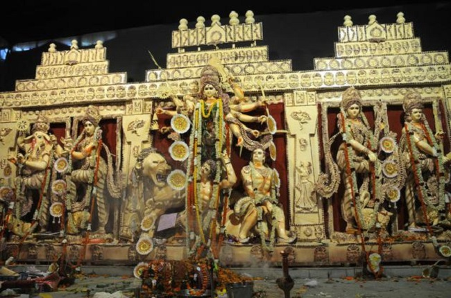 India Tv - CR Park Durga Puja Pandal