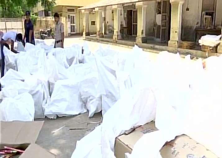 Illegal fire cracker factory found inside Dera premises