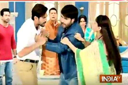 SBAS Telly Updates: Harman thrashes Balwinder in Colors' show Shakti