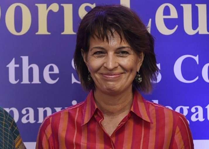 Swiss President Doris Leuthard