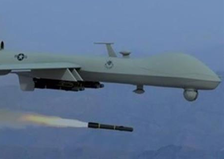 Representational pic - US drone attack kills 3 militants in