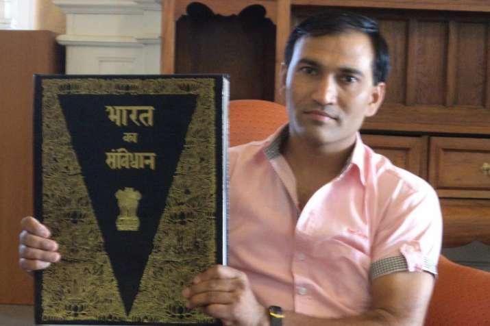 Delhi University professor Kedar Kumar Mandal