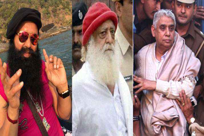 Ram Rahim, Sant Rampal, Asaram find place in list of 'fake