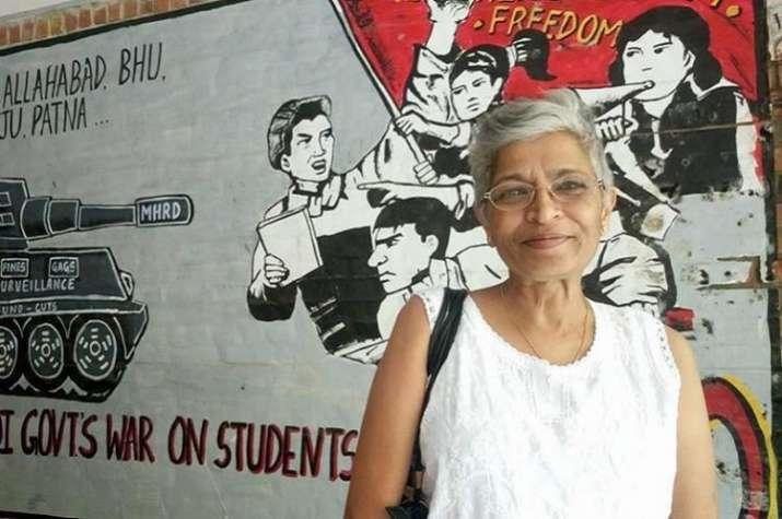 Noted journalist and activist Gauri Lankesh was shot dead