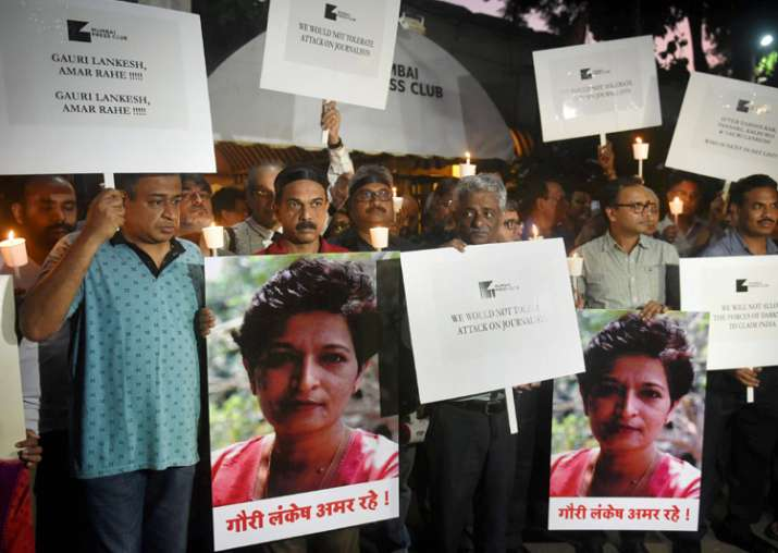 Slain journalist Gauri Lankesh laid to rest with State