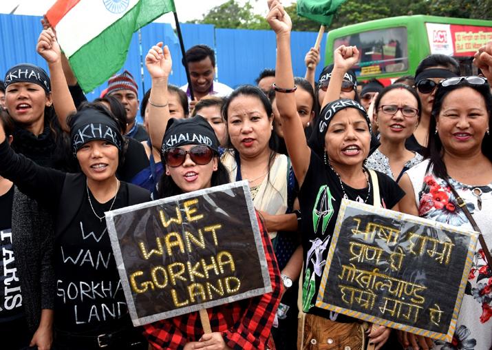Gorkha Janmukti Morcha withdraws Darjeeling shutdown