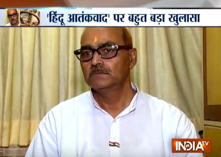 Retired Major Ramesh Upadhyay