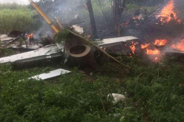 Trainee IAF aircraft crashlands in Telangana, no casualties