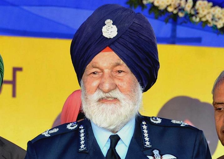 Marshal of IAF Arjan Singh suffers massive heart attack, on