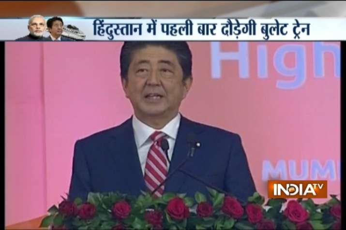 Shinzo Abe said Prime Minister Narendra Modi was a