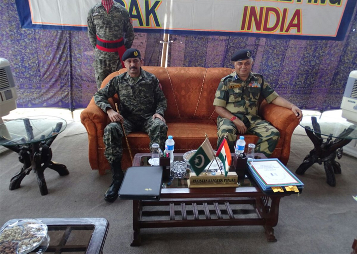 BSF, Pak Rangers meet over border tension; first time in