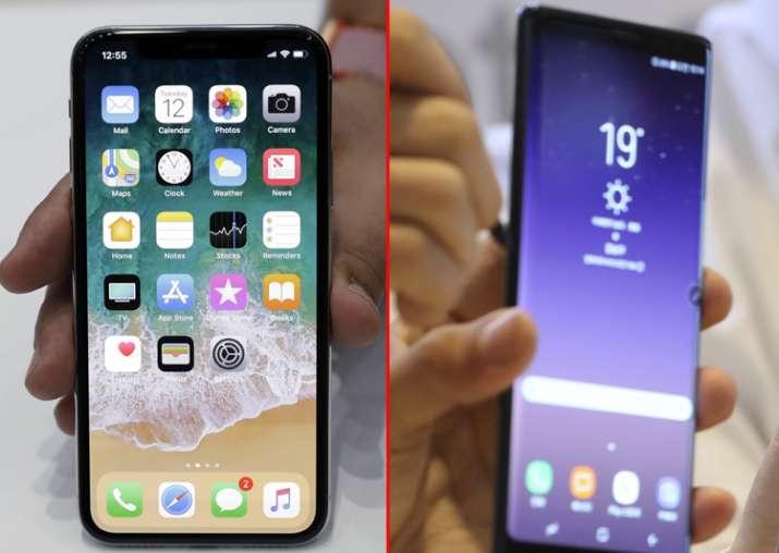 Apple iPhone X vs Samsung Galaxy Note 8
