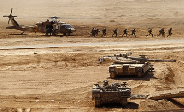 The Israeli army last held a drill of this size in 1998