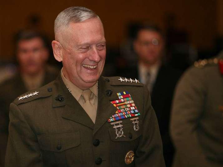 US Defence Secretary James Mattis