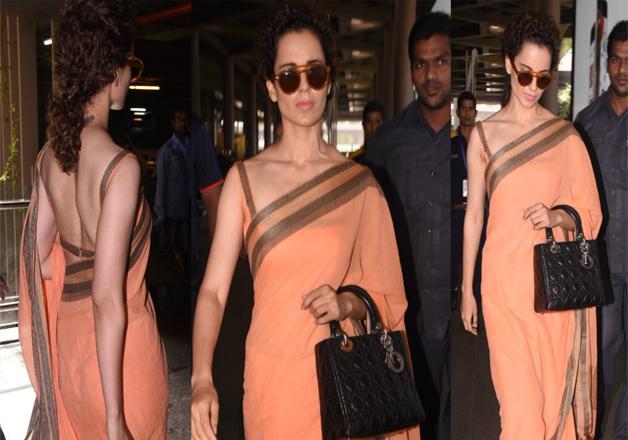 India Tv - Kangana Ranaut spotted at airport