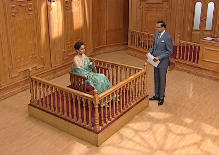 kangana ranaut aap ki adalat india tv