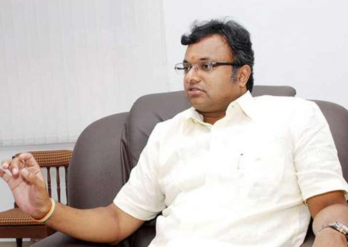 File pic of Karti Chidambaram