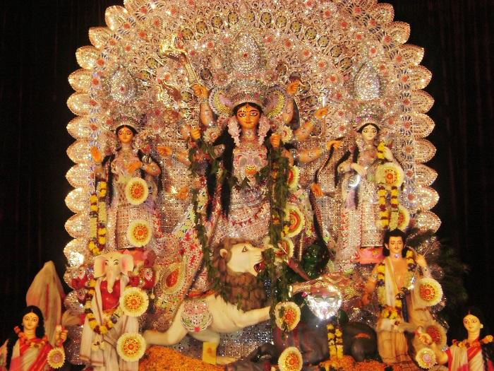 India Tv - Timarpur Durga Puja Pandal