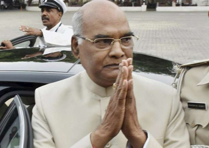 File pic of President Ram Nath Kovind