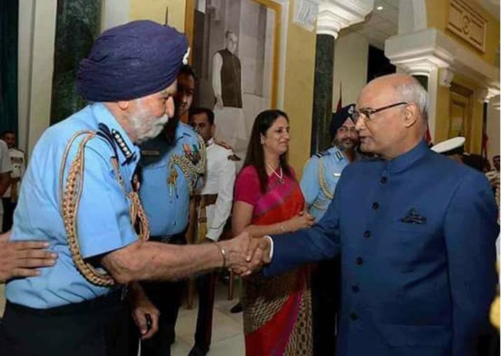 India Tv - File pic - President Kovind meets Arjan Singh