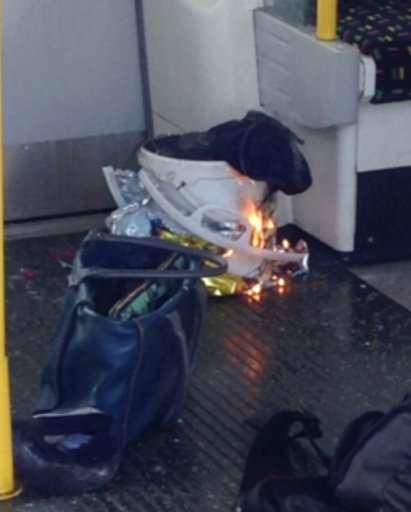 India Tv - Fire raises at a southwest London subway station