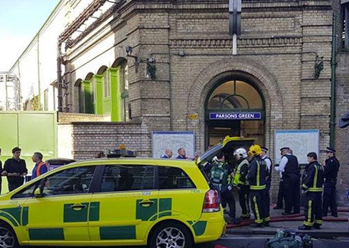 London Parsons Green Tube Terror Attack
