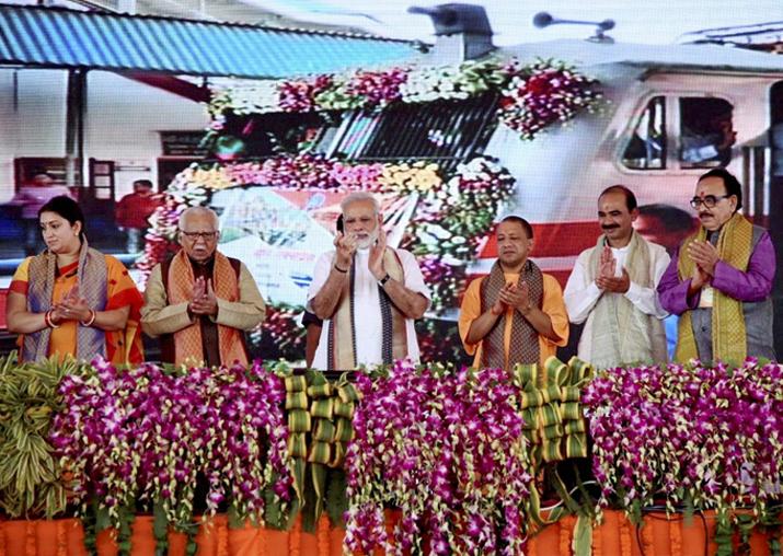PM Modi flags off Mahamana Express from Varanasi