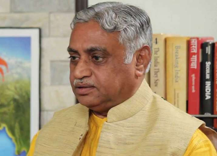 File pic of RSS leader Manmohan Vaidya
