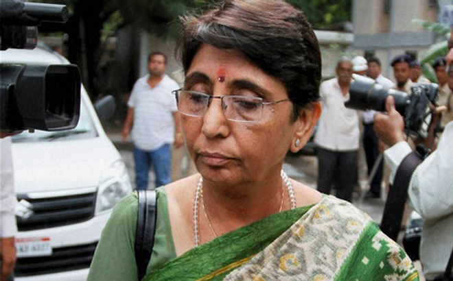 BJP leader Maya Kodnani is an accused in Nraoda Gam riots