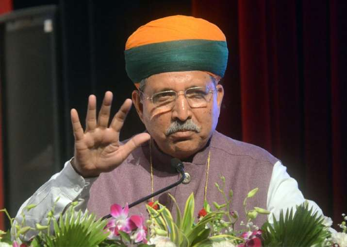 File pic of Minister of State for Finance Arjun Ram Meghwal