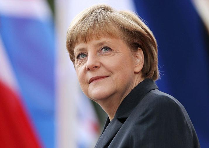 File pic of Angela Merkel