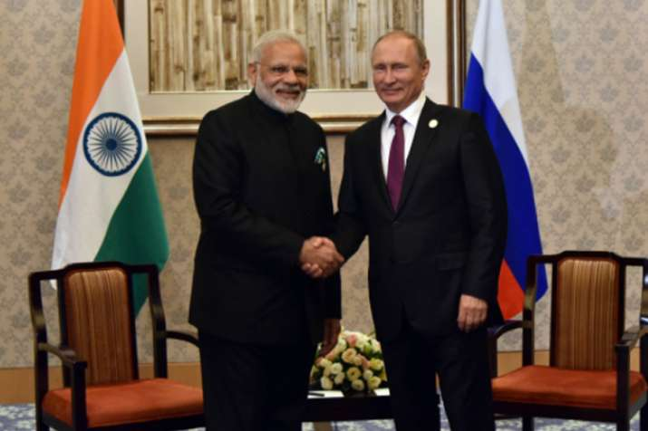 PM Modi, Putin meet on BRICS sidelines